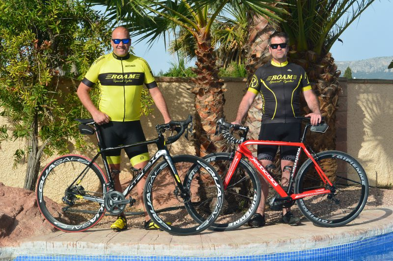 fiets training in Calpe
