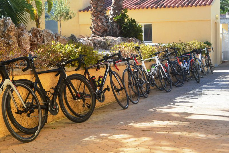 fietsen bed and breakfast calpe