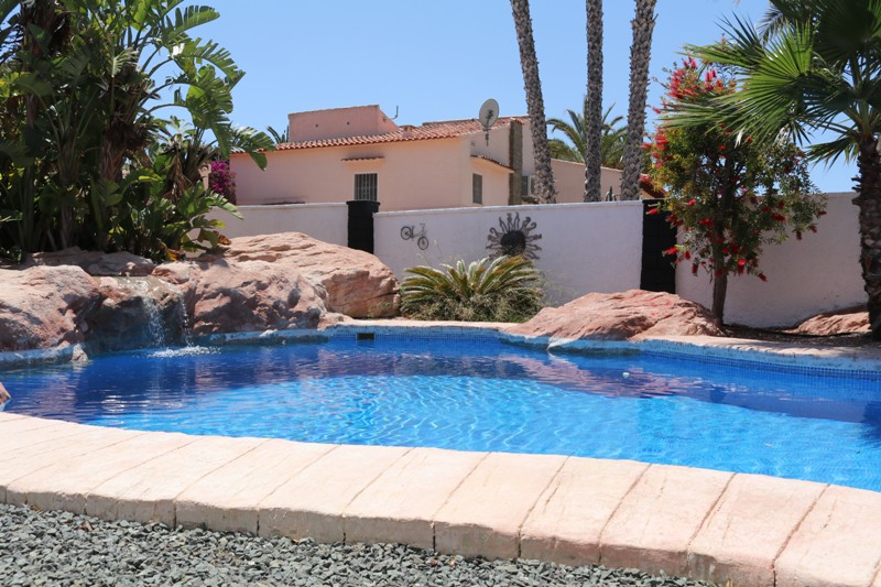 Swimming pool Calpe B&B Casa sardonyx