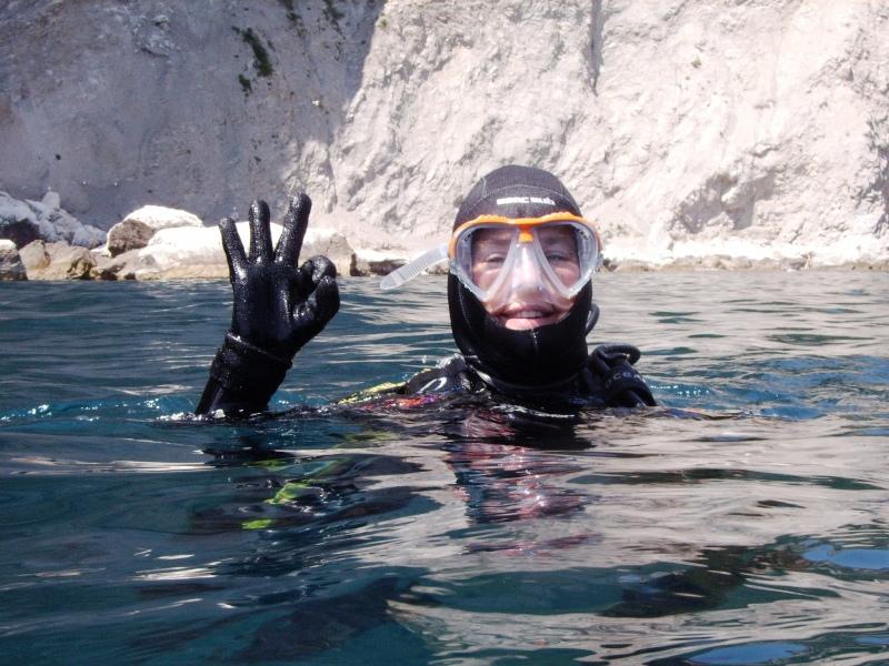 Duik aan de Middellandse zee