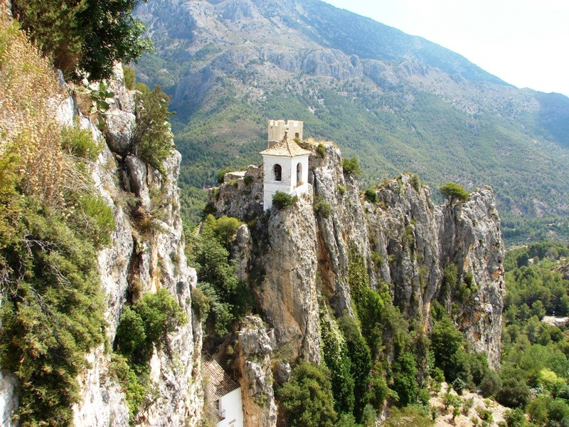 Guadalest chapel