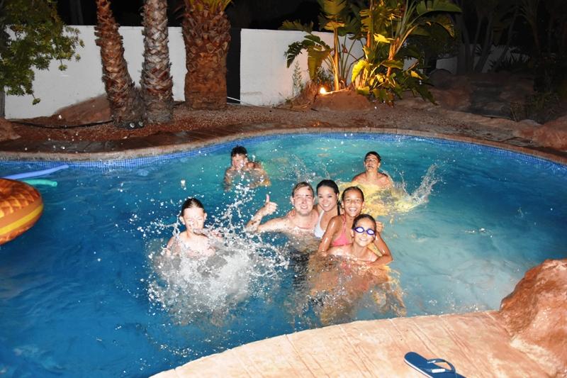 Zwembad B&B Casa Sardonyx Calpe